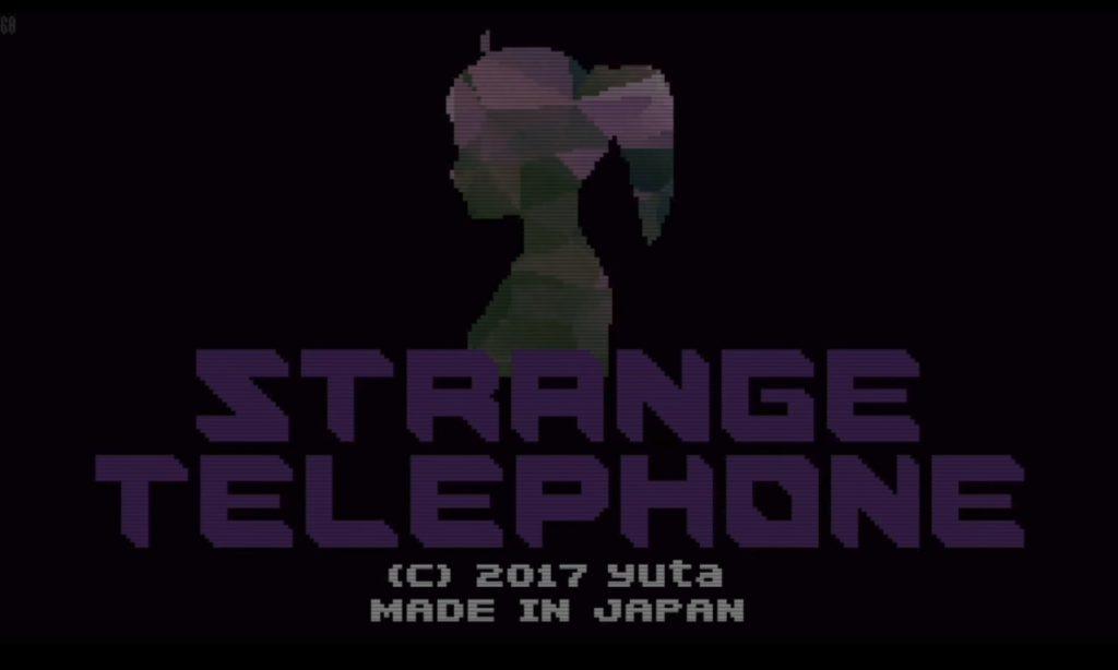 Strange Telephone Title Screen