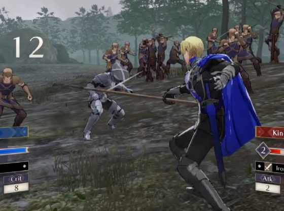 Dimitri Stabs a Soldier