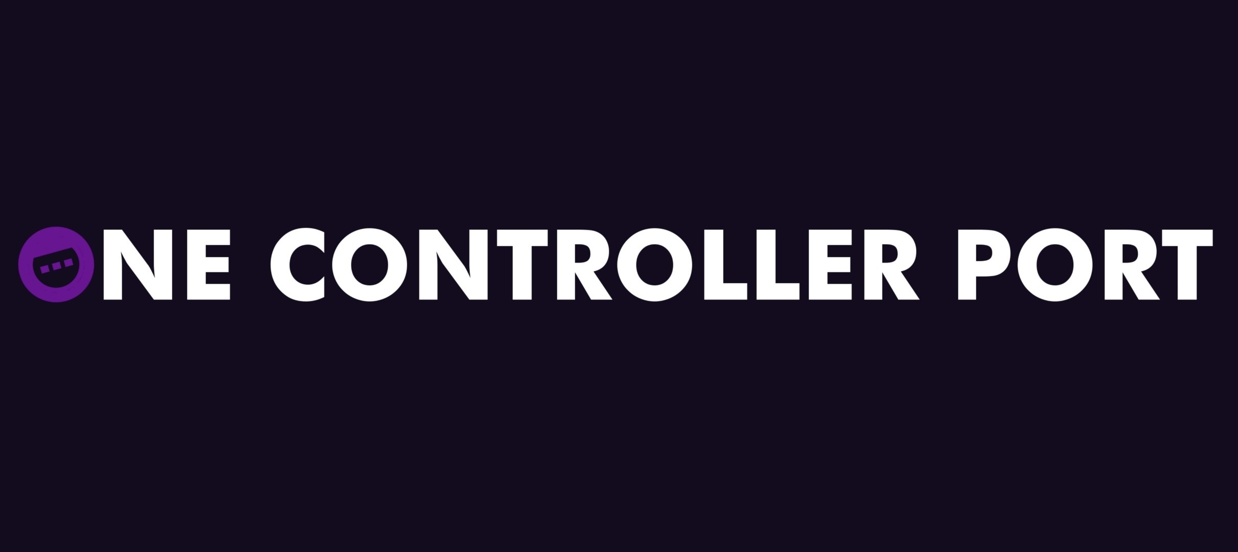 Home Page - One Controller Port