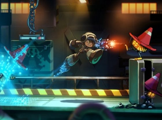 Mighty No 9 Kickstarter Concept Art