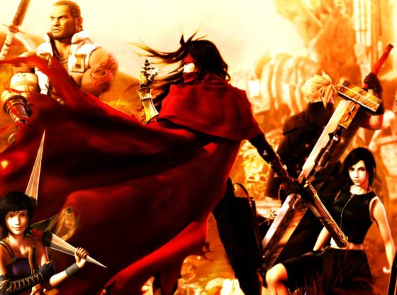 Final Fantasy VII: Dirge of Cerberus Promotional Art